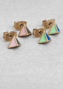 FMF ENAMEL EARRINGS