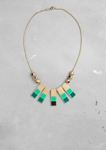 FMF ENAMEL NECKLACE