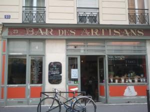 Le Bar des artisans_Enseigne