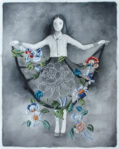 Izziyana Suhaimi skirt